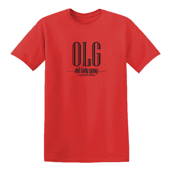 Kandi Burruss Old Lady Gang OLG T-Shirt [Red]