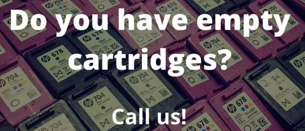 Do you have empty or new cartridges? Call us!