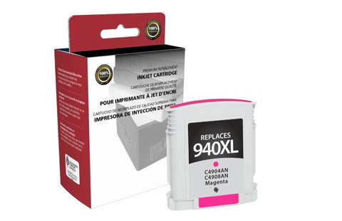 High Yield Magenta Ink Cartridge for HP C4908AN (HP 940XL)