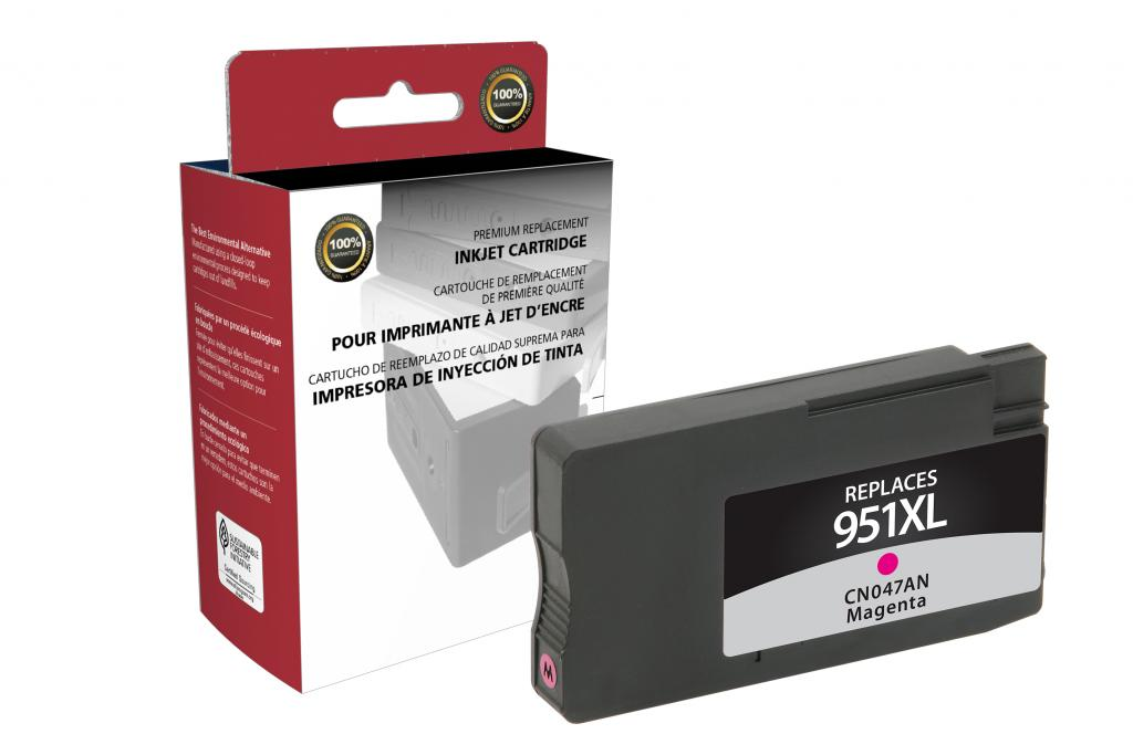 High Yield Magenta Ink Cartridge for HP CN047AN (HP 951XL)
