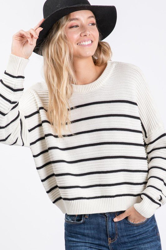 MAKING SOME MEMORIES SWEATER - IVORY