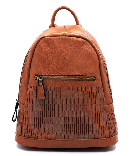 CHILL PERFORATED BACKPACK - TAN