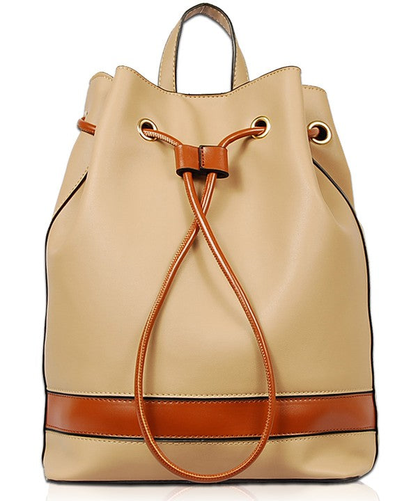 HIDDEN TREASURE BACKPACK - BEIGE