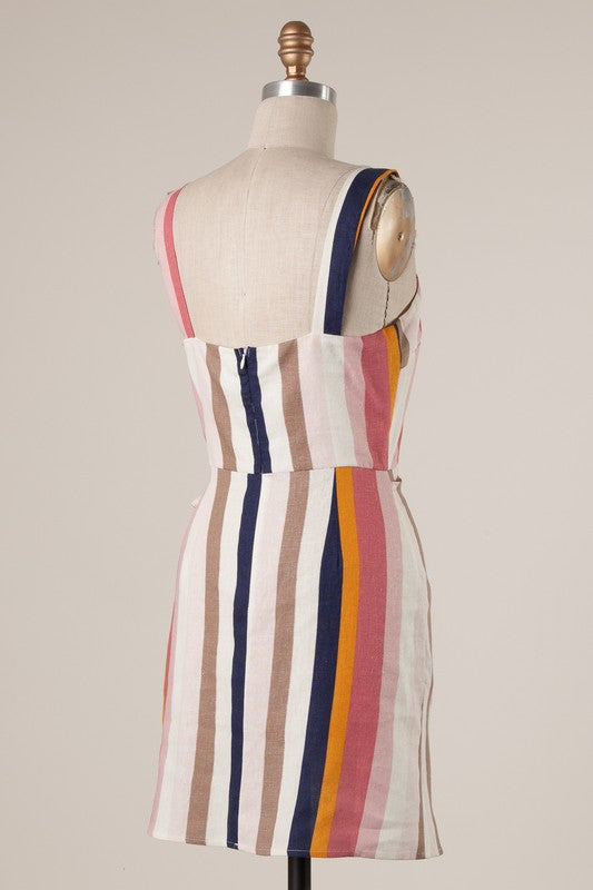 LET THIS BE COLORBLOCK DRESS