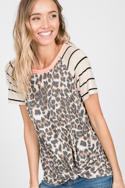 CAN'T HIDE LEOPARD TOP