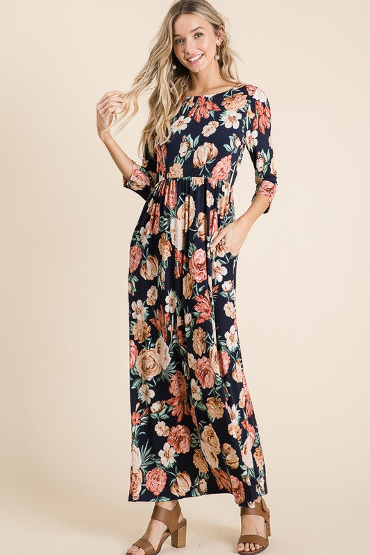 YOU'RE MY EVERYTHING MAXI DRESS
