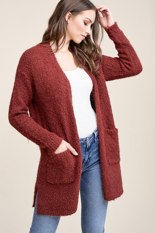 ON THE FLY COPPER CARDIGAN
