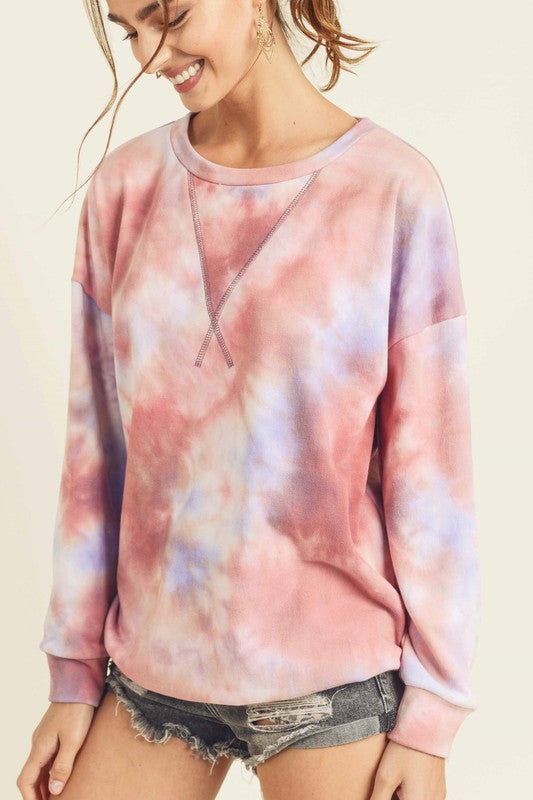 MYTHICAL TIE DYE PULLOVER