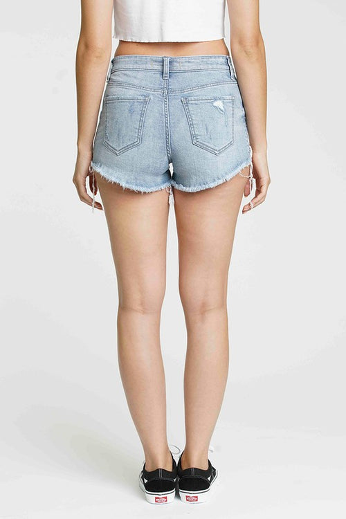 TELL YOU LATER HIGH RISE SHORTS