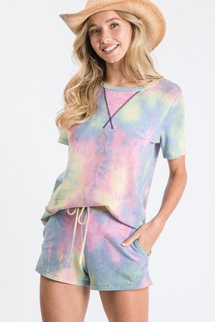 HIGH TEMP TIE DYE TANK - PINK