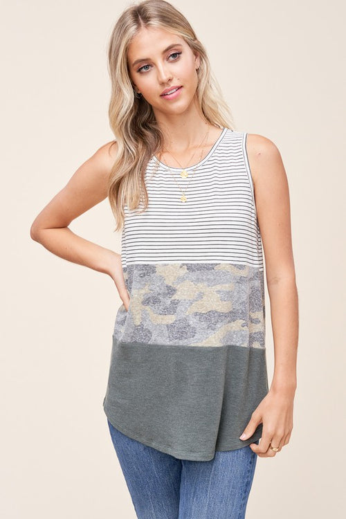 THE RELAXED LIGHT CAMO TANK