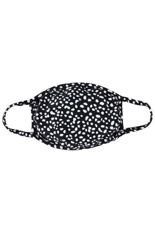 KIDS - PEBBLE PRINTED REUSABLE FACE MASKS