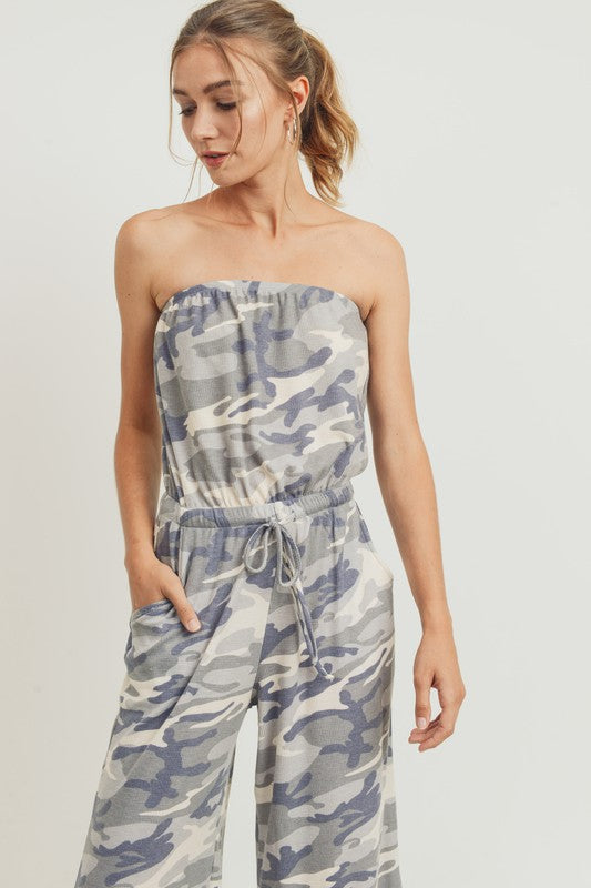THE WEEKENDER CAMO JUMPSUIT