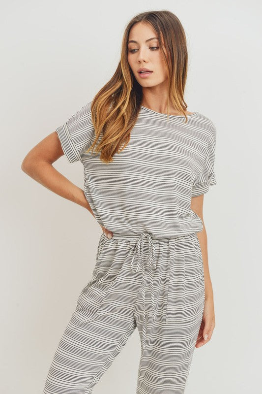 RIGHT TRACK POCKETED JUMPSUIT