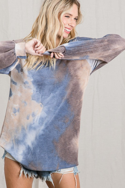 THE ADDISON TIE DYE TOP