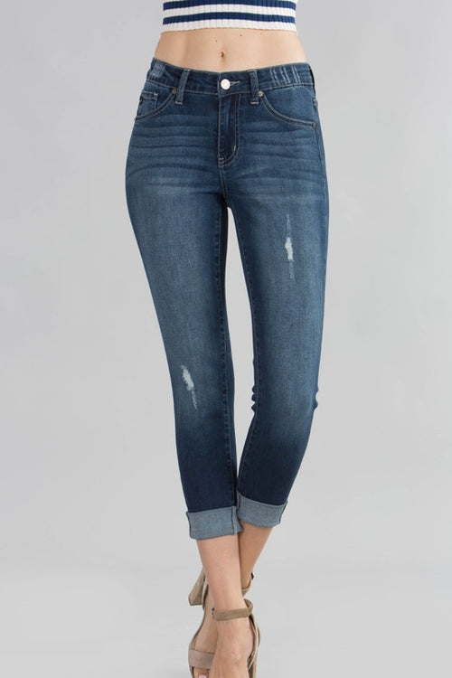 EMBRACE THE SUMMER CAPRI DENIM