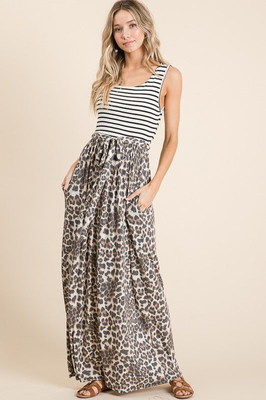 THE BAY LEOPARD MAXI