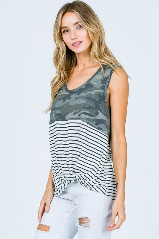 UNDER DISGUISE CAMO TANK