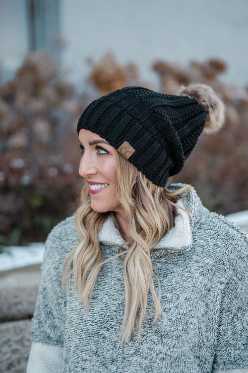 CC FLEECE LINED BEANIE