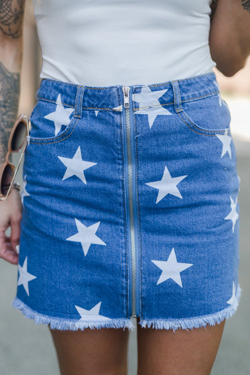 SAVE THE DAY STAR SKIRT