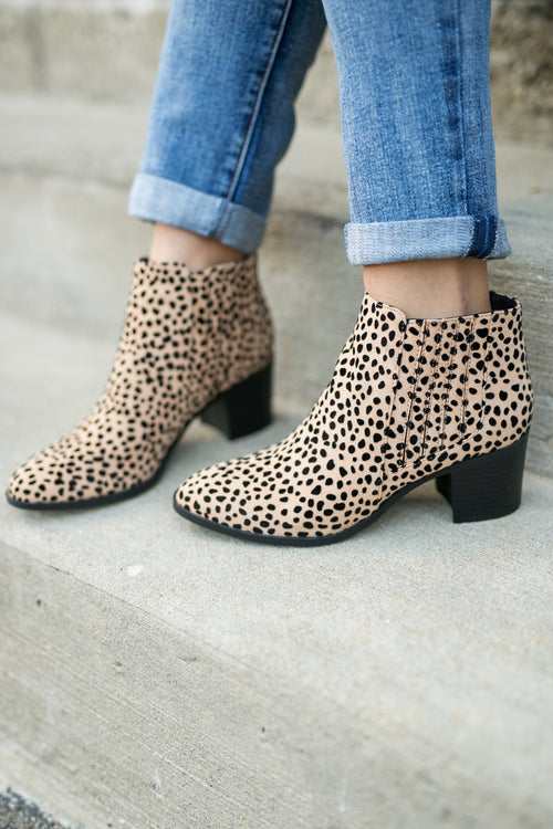 HARD TO MISS CHELSEA BOOTIE- LEOPARD
