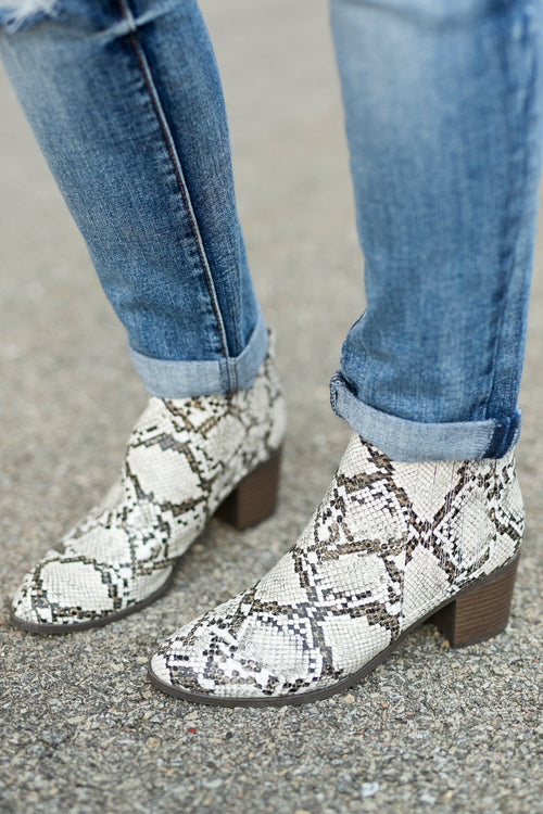 HARD TO MISS CHELSEA BOOTIE- SNAKE