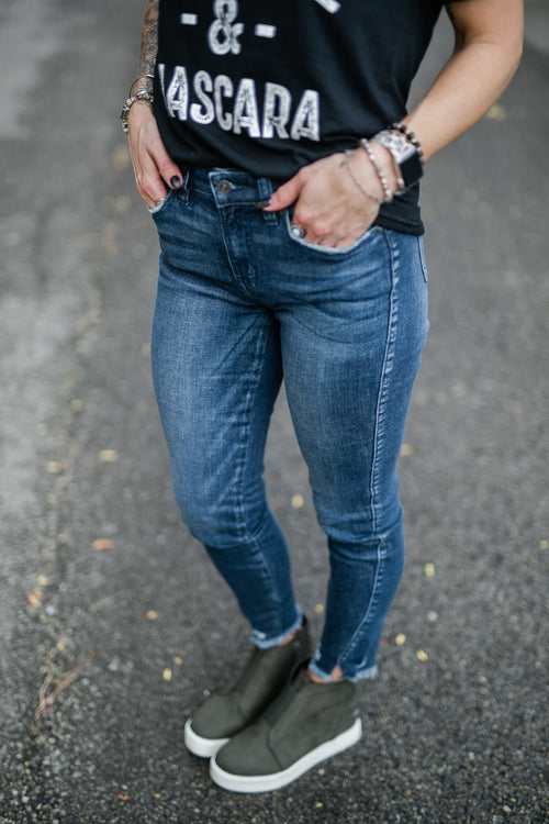 CARTER HIGH RISE DENIM