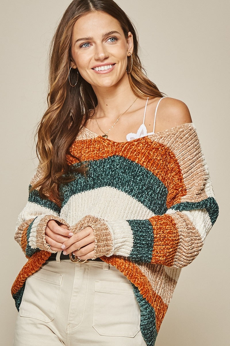 APPEARANCE OF AUTUMN SWEATER