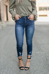 AROUND DOWNTOWN HIGH RISE DENIM
