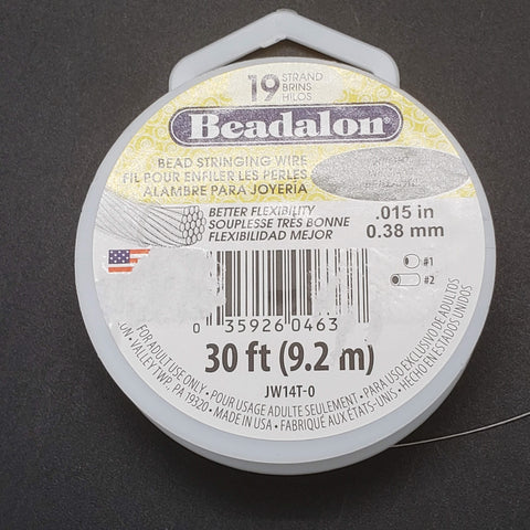 Beadalon - 19 Strand Bright - .015 in (.38mm)