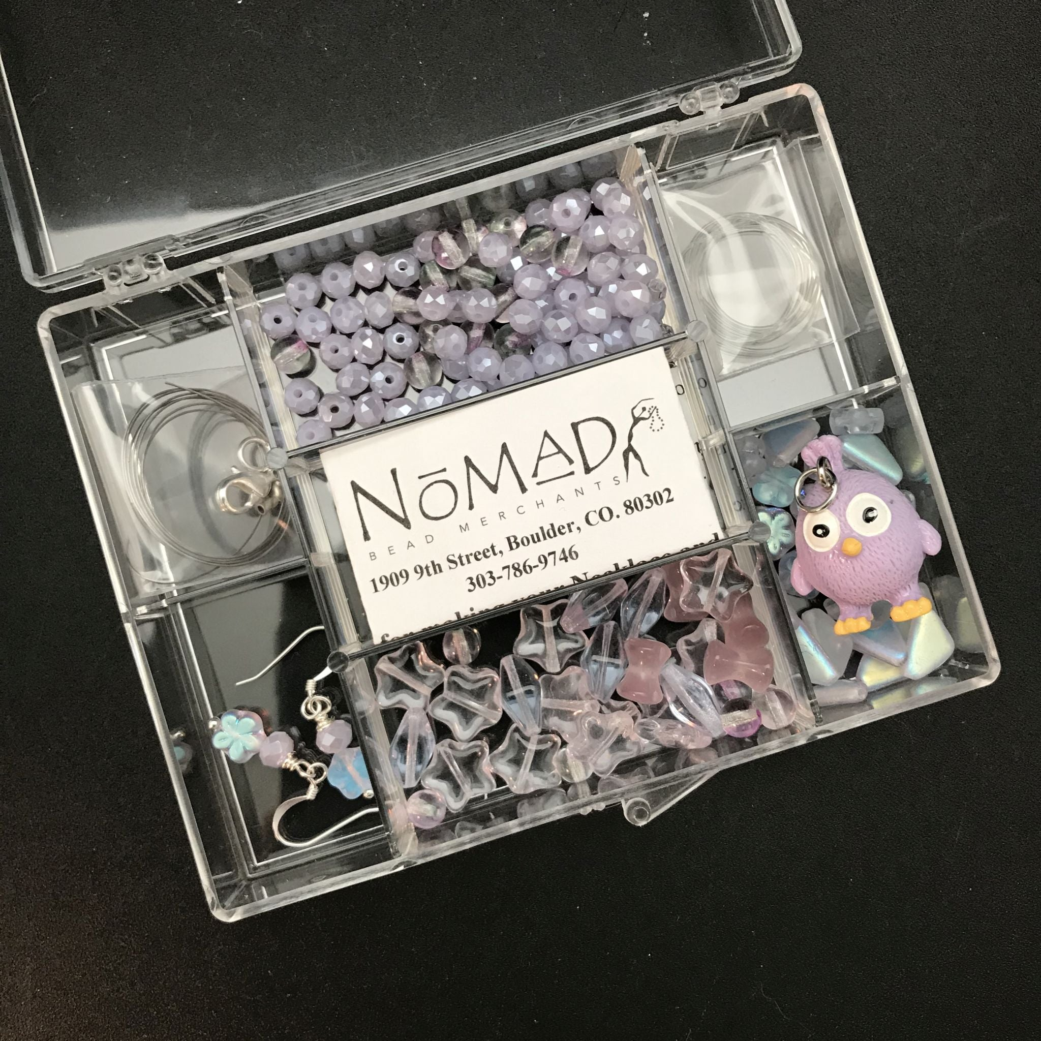 Basic Beading Kit: Lavender Chickie