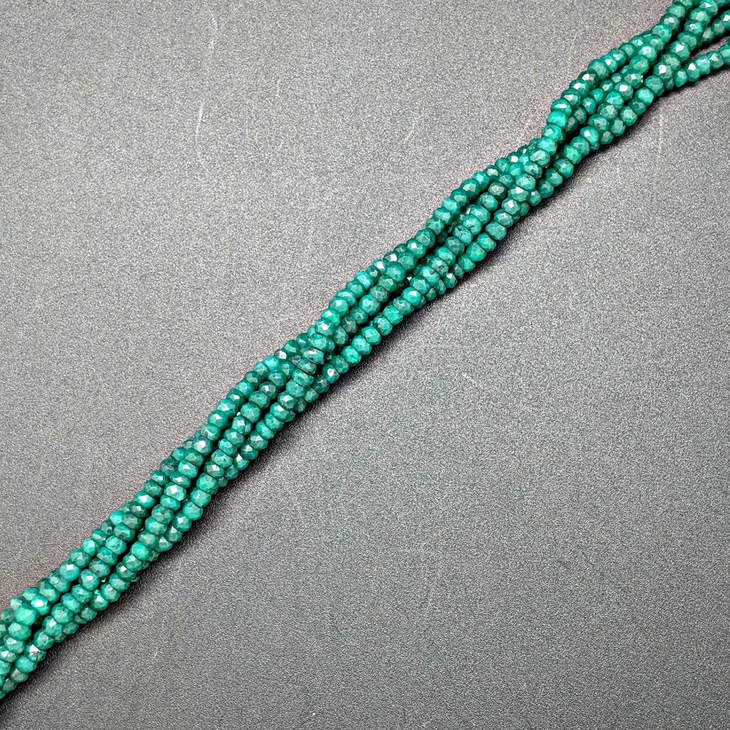 Emerald 4mm Rondelle