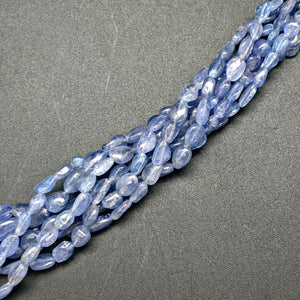 Tanzanite 9mm by 7mm Oval Beads