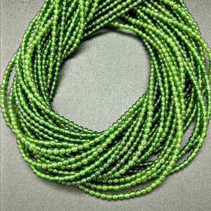 Nephrite Jade Round 3mm Beads