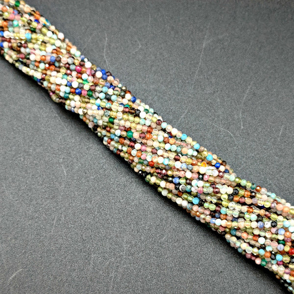 Multi-color Glass 1mm Beads