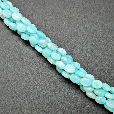 Peruvian Amazonite 8x6mm Oval Beads