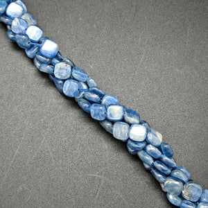 Kyanite 8x8mm Square Beads