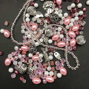 Stretch Bracelet Kit: Pink Shades