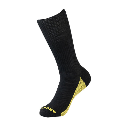 Black Athletic Crew Sock | athletic socks | ArchTek