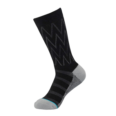 Black/Grey Herringbone Dress Sock | dress socks | ArchTek