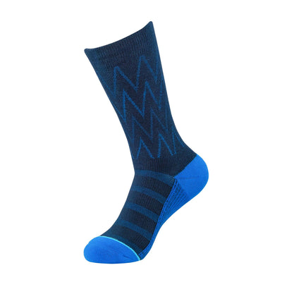 Dark/Royal Blue Herringbone Dress Sock | dress socks | ArchTek
