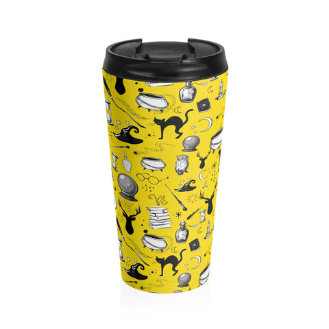 Magic - Stainless Steel Travel Mug (Sherpa Yellow)