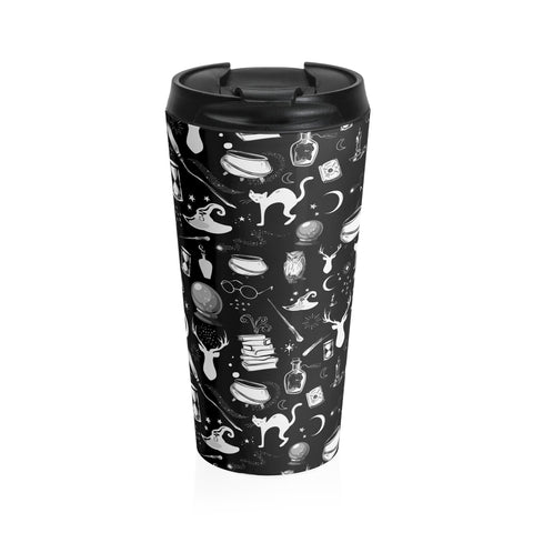 Magic - Stainless Steel Travel Mug (Black Edition)
