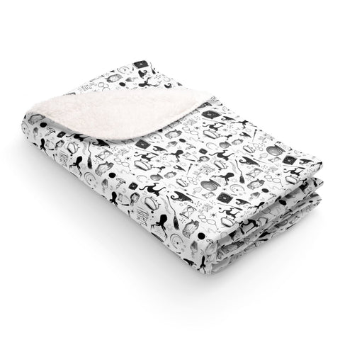 Magic - Signature Print Sherpa Fleece Blanket