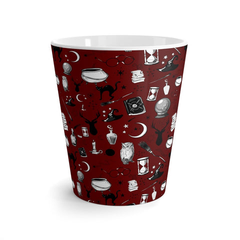 Magic - 12oz Latte Mug (Sherpa Red)