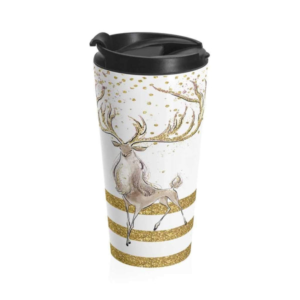 Deer Lux - Stainless Steel Travel Mug