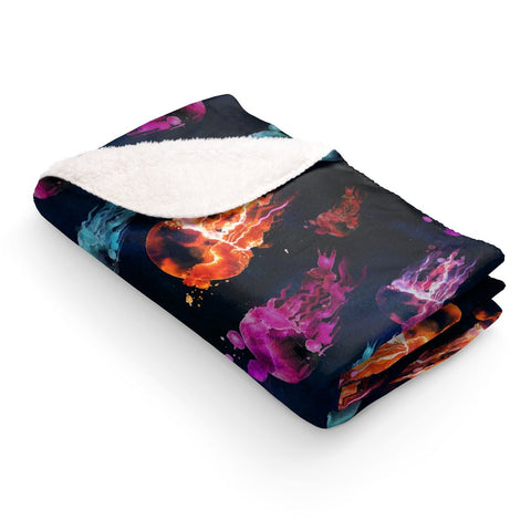 Jelly Magic - Sherpa Fleece Blanket