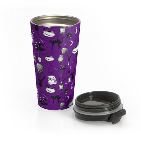 Magic - Stainless Steel Travel Mug (Grape)