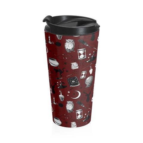 Magic - Stainless Steel Travel Mug (Sherpa Red)