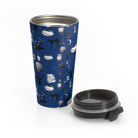 Magic - Stainless Steel Travel Mug (Sherpa Blue)